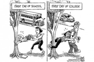 ... Have A Son Starting College. And One In Kindergarten This Year