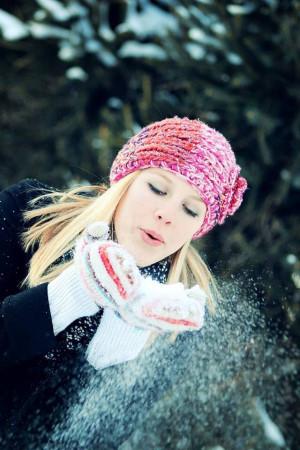 Snow Senior Picture Ideas