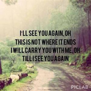 See you again - Blown Away