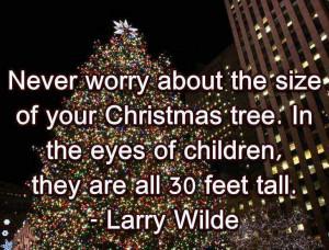 Christmas tree - Short Christmas quotes