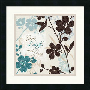 Lisa Audit Botanical Touch Quote II Framed Art Print Today $94.99