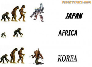 Funny Evolution Picture