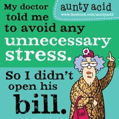 ... acid comic aunty acid doctor order acid aunti funni aunti acid humor