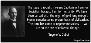 More Eugene V. Debs Quotes