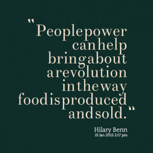 Quotes Picture: people power can help bring about a revolution in the ...