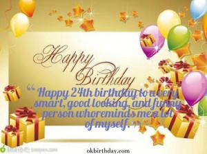 Happy 24th Birthday Quotes