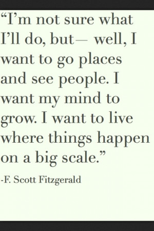 Scott Fitzgerald @Elise Hernke and @Hannah Bohne this made me think ...