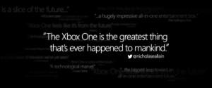 Microsoft Quotes Random Tweet to Promote Xbox One