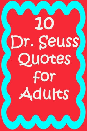 Dr Seuss Graduation Quotes