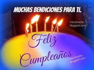 Fotos - bendiciones feliz cumpleaños frases cristianas - Imagenes ...