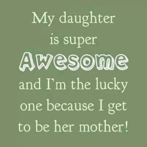 My daughter quotes