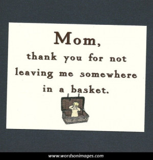 Funny quotes for mothers day