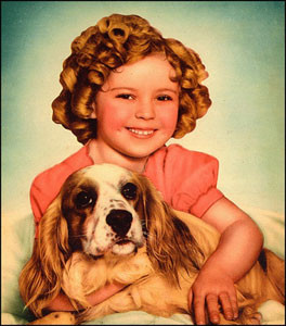 Puppy dogs and puppy love! Shirley Temple was a Depression Era ...