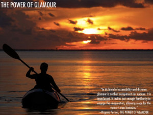 ... Virginia Postrel #glamour #grace #autonomy #kayak #sunset #mystery #