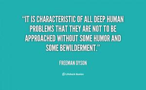 Freeman Dyson Quotes
