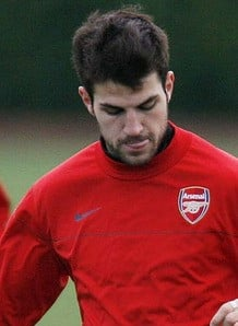 Cesc to return in 'four weeks'