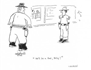 ... Matt Groening. Callahan drew scenes based on his disabilities and