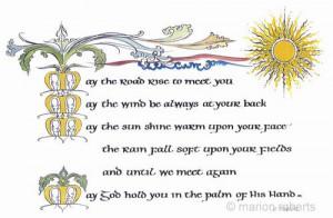 Irish Blessing Celtic...