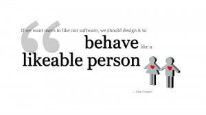 """Download the """"likeable person"""" quote above at 1920 x1080 ..."""