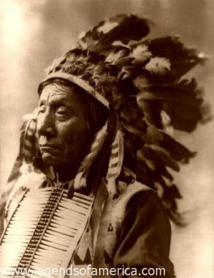 """... song and die like a hero going home."""" -- Chief Tecumseh, Shawnee"""