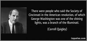 of Cincinnati in the American revolution, of which George Washington ...