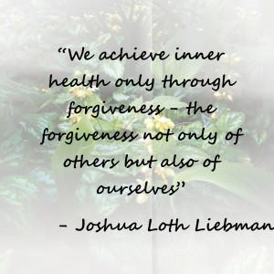 Inspirational Quotes: Forgiveness