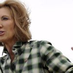 ... candidate Carly Fiorina just compared Hillary Clinton to Tom Brady