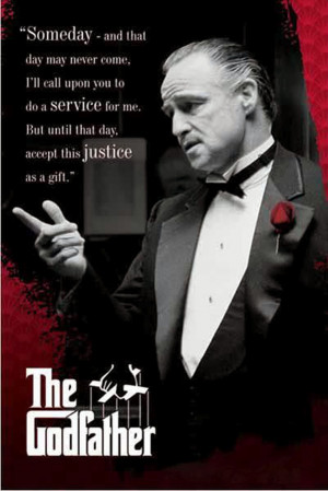 The Godfather1 Movie Poster
