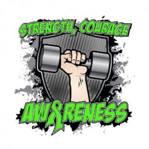 Lymphoma Cancer Strength Courage Men by mencancergifts