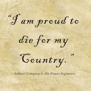 CIvil War Soldier Quote