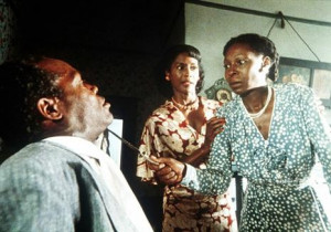 The Color Purple - Celie threatens her husband, Albert as she leaves ...