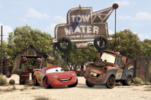 Cars - Tow Mater