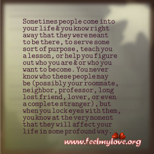 For A Reason Life Quotes About Coming Into Your People ...