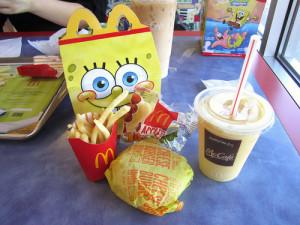 mine food fries cheeseburger mcdonalds happy meal