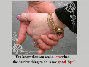 Good bye quotes, good bye quote, saying good bye quotes