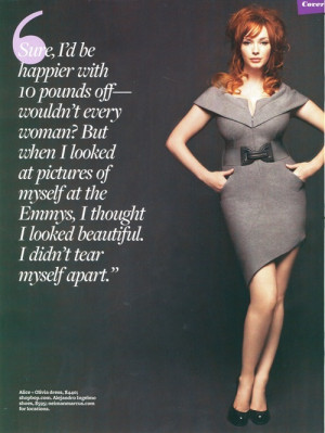 ... to create a christina hendricks shrine all hail christina hendricks