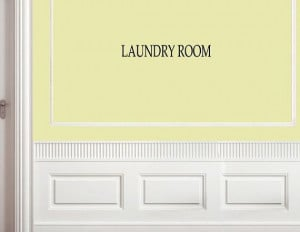 Vinyl Wall words quotes and sayings Laundry room by vinylsay, $8.99