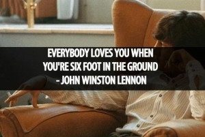 """Motivational Quotes By """"John Lennon"""" – 2"""