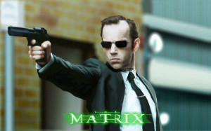 Trapped in a matrix ruled by shooters in suits