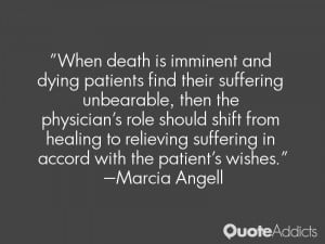When death is imminent and dying patients find their suffering ...