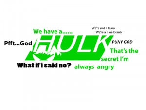 Hulk avengers quotes by MarcusSoNaughty