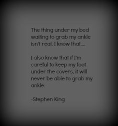 Stephen King Quotes On Horror
