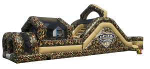 Delta Force 45' Inflatable Obstacle Course