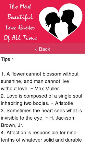 The Most Beautiful Love Quotes App for Android