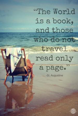 book, quotes, travel