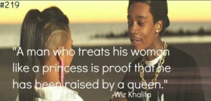Quotes and sayings wiz khalifa about woman girls