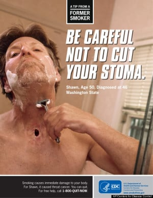 ... is used in recent anti-smoking and methamphetamine use campaigns