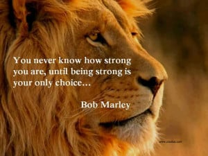 Motivational Thoughts-Bob Marley-strong-quotes