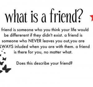 ... your life would be different if they didnt exist friendship quote