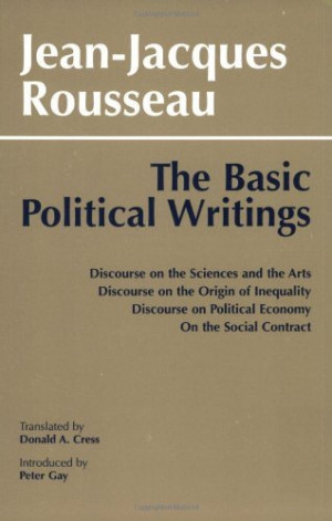 Discourse on Inequality and Social Contract, Jean-Jacques Rousseau